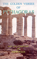 Golden Verses of Pythagoras with commentary by Hierocles